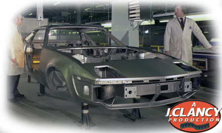 Triumph TR7 production line