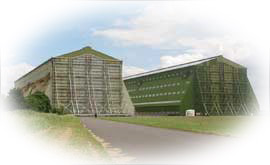 The Airship Hangers at Cardinton