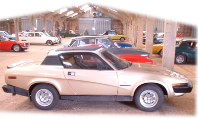 One of just a few TR7/8s in the car park by the time I got to wandering around.